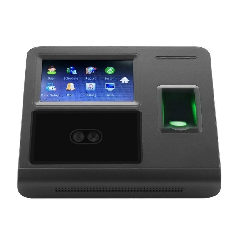 Биометрическая система контроля и учета: сканер отпечатков пальцев, кооперативное распознавание лиц 185545