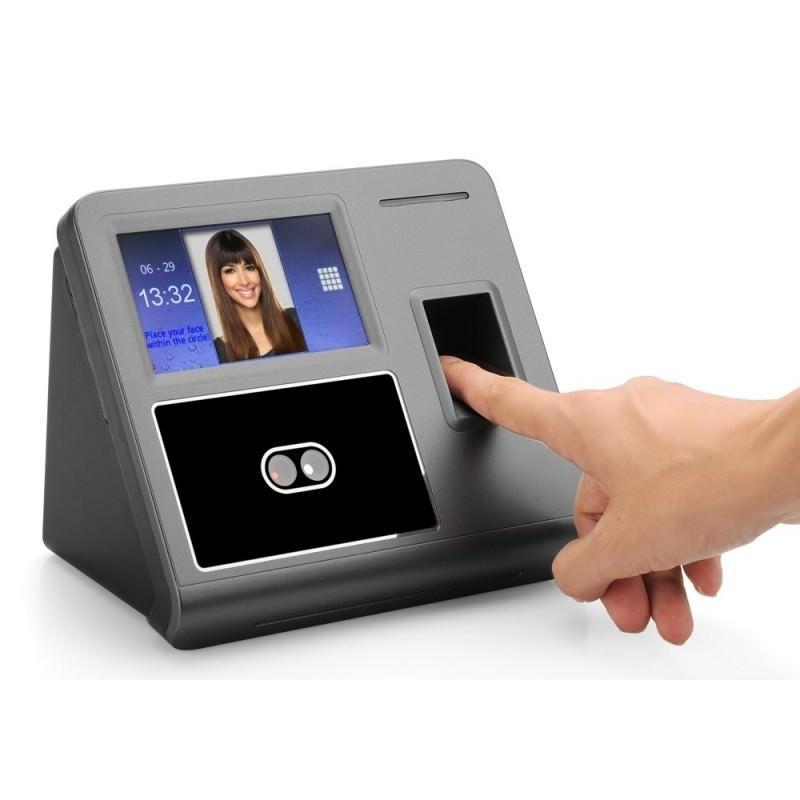 Биометрическая система контроля и учета: сканер отпечатков пальцев, кооперативное распознавание лиц 185546