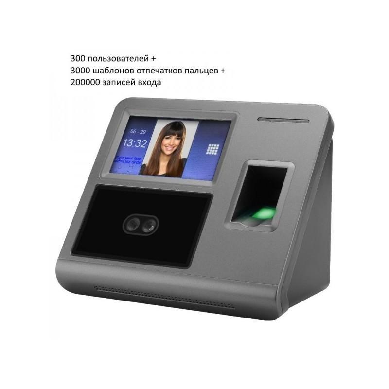 Биометрическая система контроля и учета: сканер отпечатков пальцев, кооперативное распознавание лиц 185547