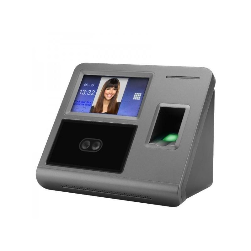 Биометрическая система контроля и учета: сканер отпечатков пальцев, кооперативное распознавание лиц