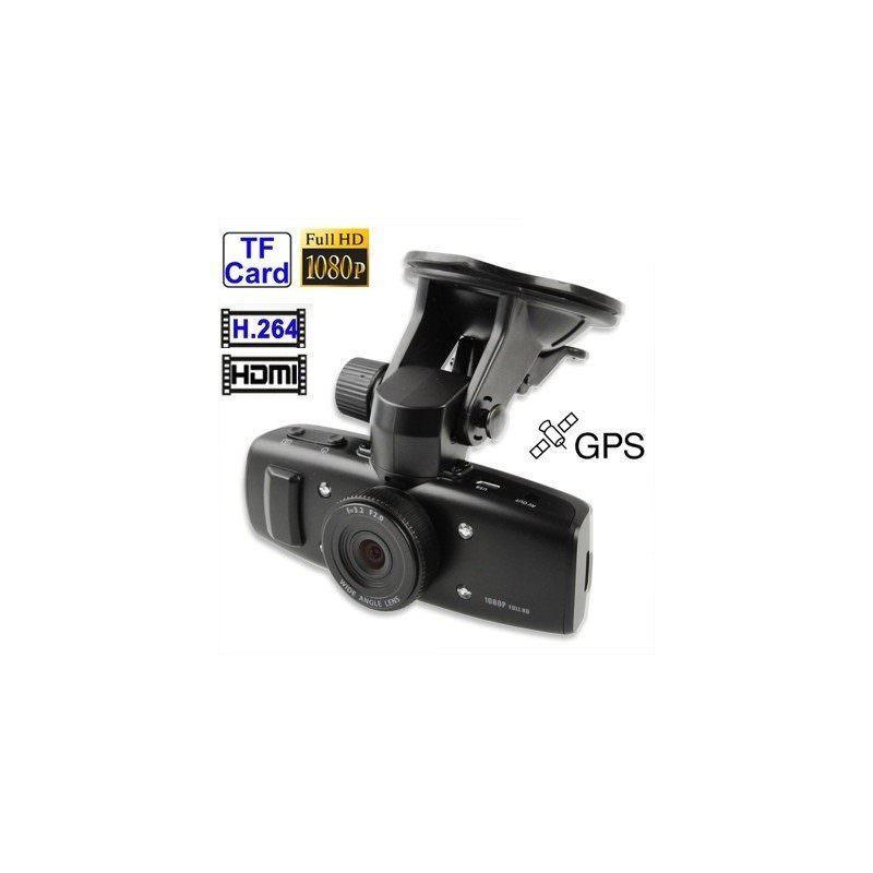Автомобильный видеорегистратор, обзор 120°, Full HD, 1920×1080, 4xZoom, 1.5″ экран, G-сенсор, встроенный GPS, G-logger, HDMI, AV