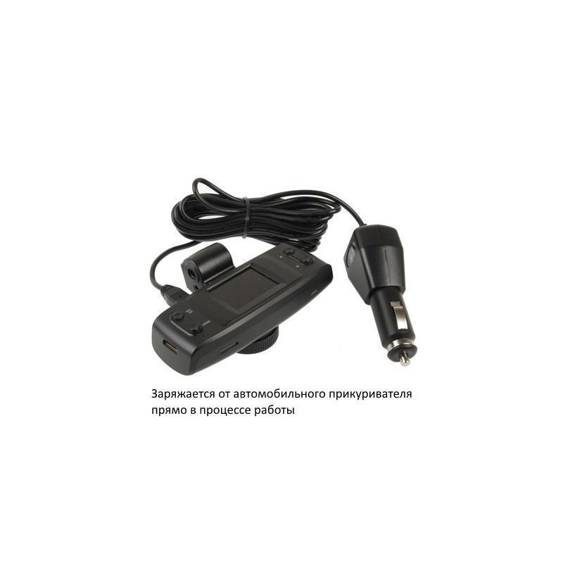 Автомобильный видеорегистратор, обзор 120°, Full HD, 1920×1080, 4xZoom, 1.5″ экран, G-сенсор, встроенный GPS, G-logger, HDMI, AV 185554