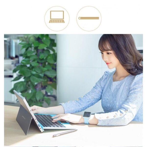 26440 - Оригинальная клавиатура для ультрабука Teclast Tbook 16 Power: магнитный разъем, дополнительный USB-порт