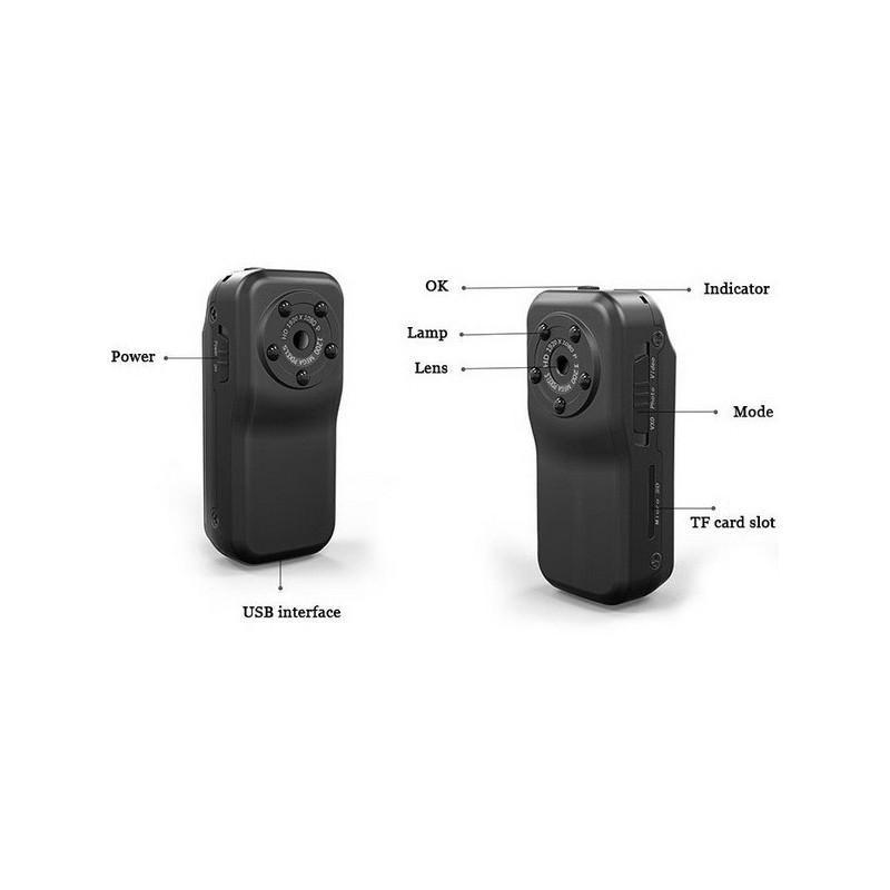 Экшн-камера F38 – 1080p, инфракрасная съемка, погружение до 10 м 185603