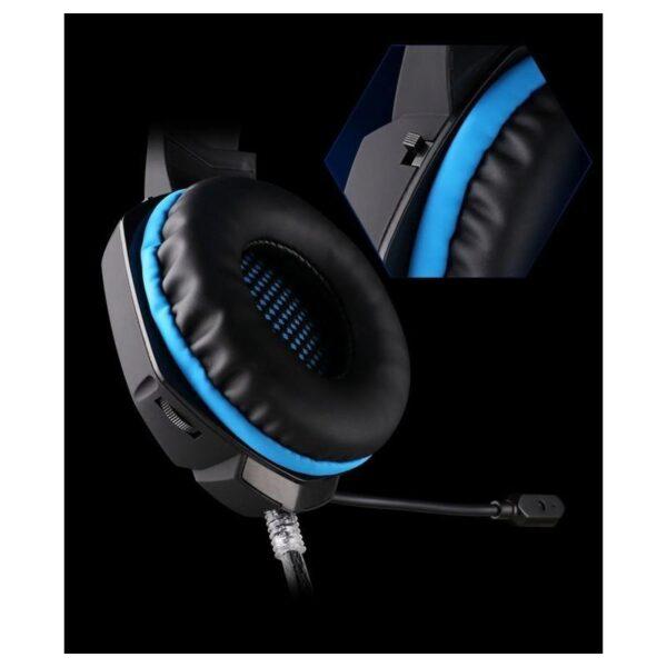 26539 - Геймерские наушники EACH G1100 с подсветкой, вибрацией и микрофоном