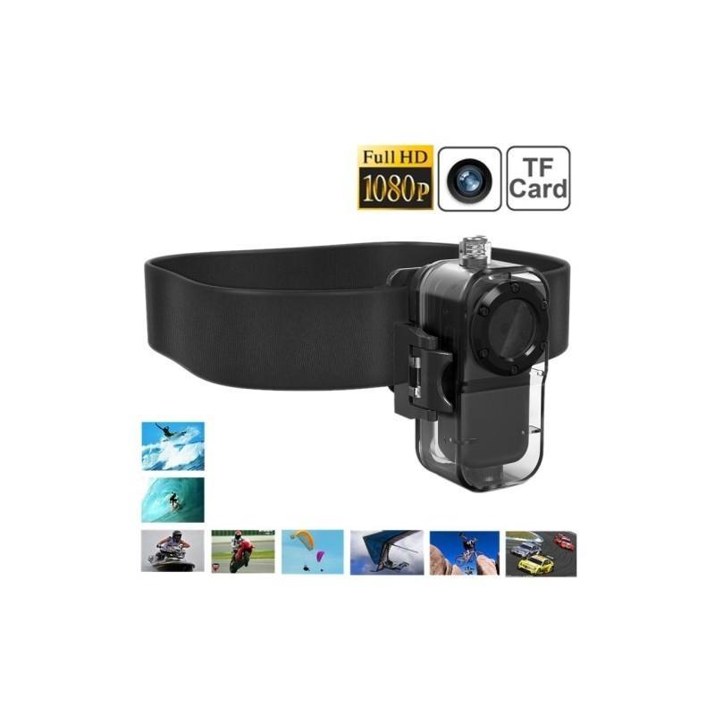 Экшн-камера F38 – 1080p, инфракрасная съемка, погружение до 10 м 185605