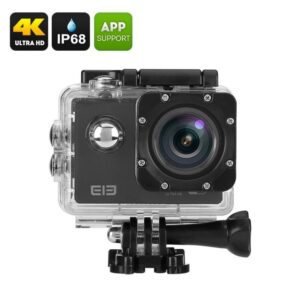 Экшн-камера Elephone ELE Explorer 4K – 170 градусов, 4К, IP68, Allwinner V3, OV4689 CMOS 16.0MP