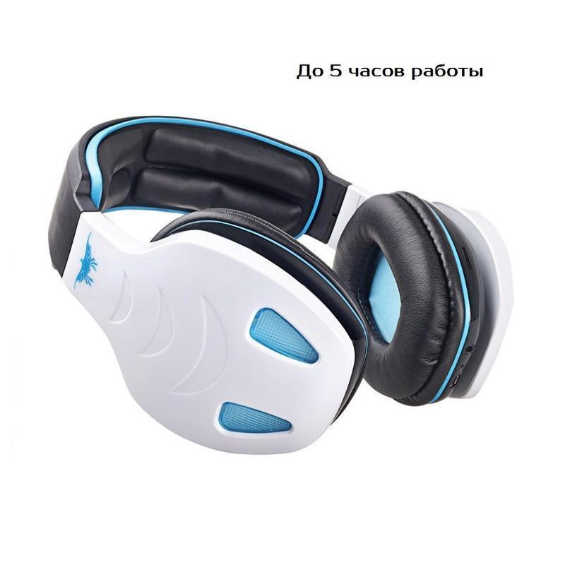 Беспроводные Bluetooth наушники Combaterwing STN-08 с микрофоном и объемным звуком 203758