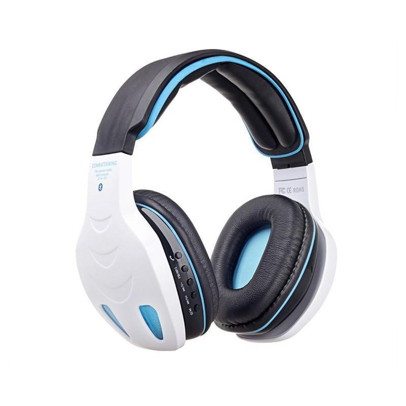 Беспроводные Bluetooth наушники Combaterwing STN-08 с микрофоном и объемным звуком 203760