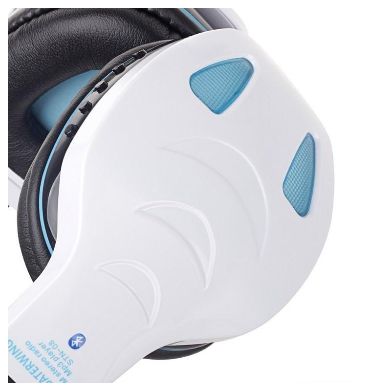 Беспроводные Bluetooth наушники Combaterwing STN-08 с микрофоном и объемным звуком 203763