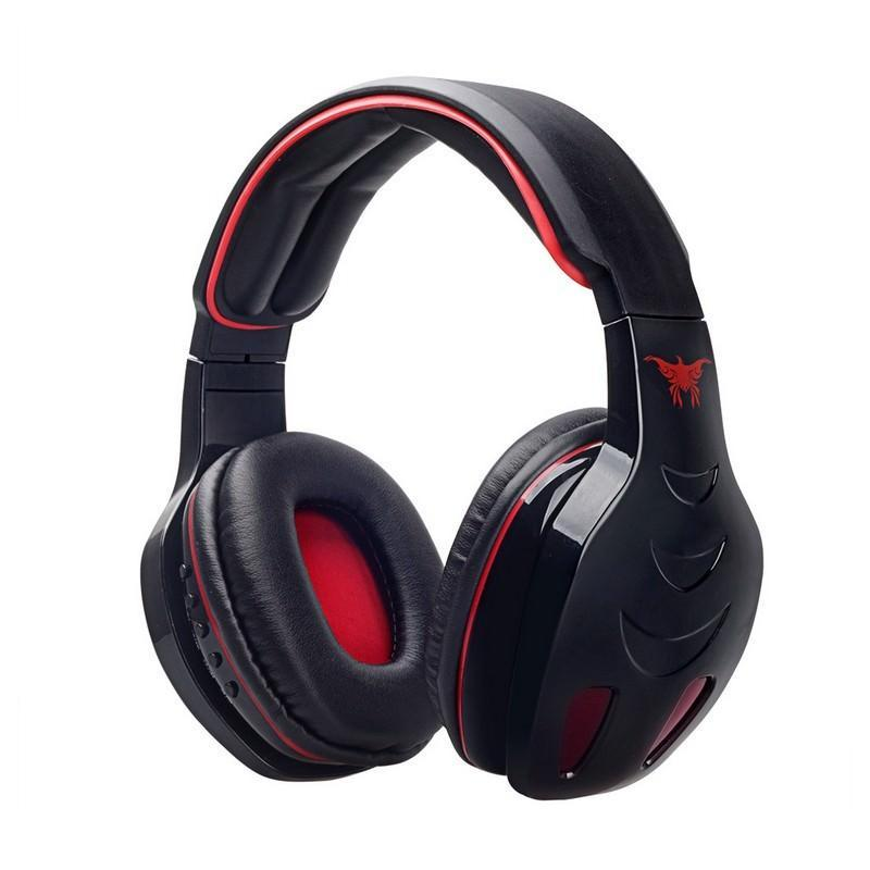 Беспроводные Bluetooth наушники Combaterwing STN-08 с микрофоном и объемным звуком 203765