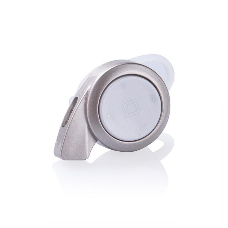 Универсальная Bluetooth-гарнитура Mini A8 - съемное крепление, до 10 часов разговора, дополнительный наушник в комплекте - Золотистый