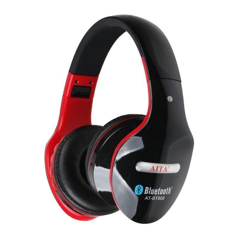 Складные Bluetooth наушники AT-BT808 с микрофоном 203850