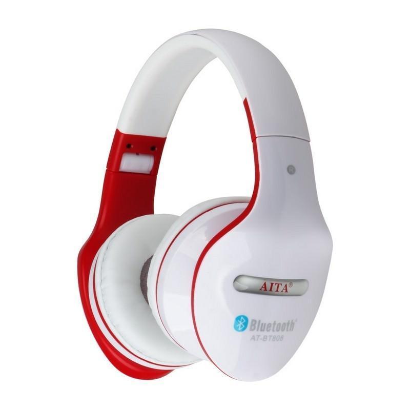 Складные Bluetooth наушники AT-BT808 с микрофоном 203851