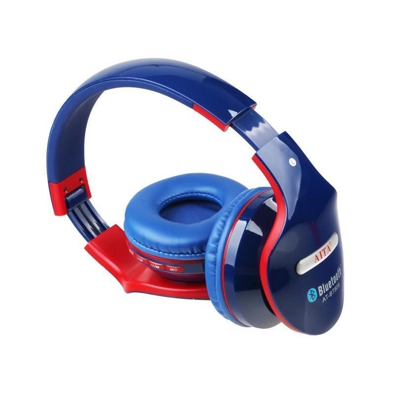 Складные Bluetooth наушники AT-BT808 с микрофоном 203852