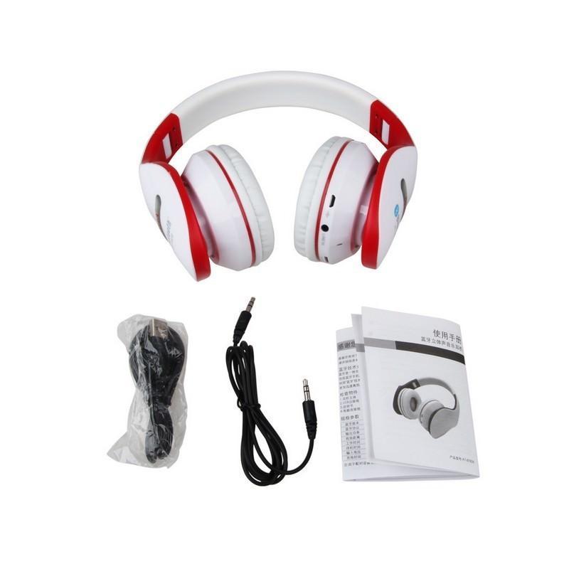 Складные Bluetooth наушники AT-BT808 с микрофоном 203853