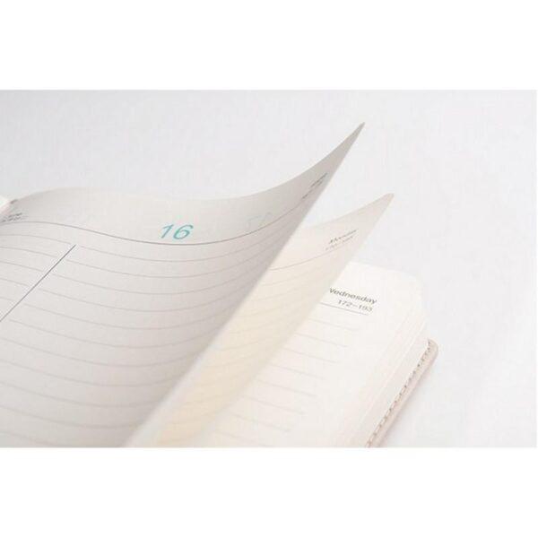 26878 - Блокнот-органайзер CAGIE The Animals A5 в твердом переплете из PU-кожи с магнитной застежкой