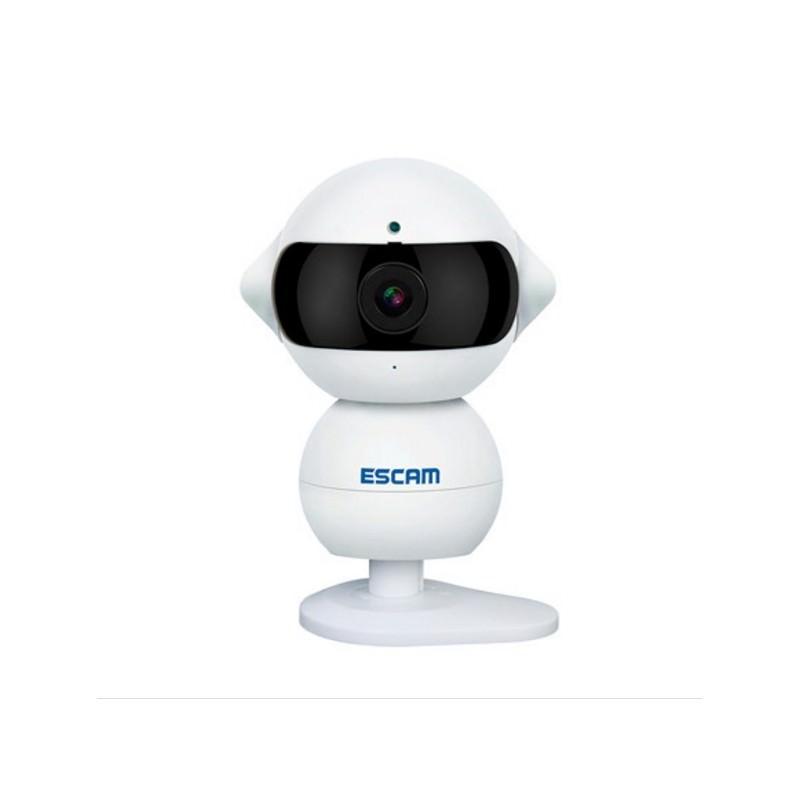 IP камера ESCAM Elf QF200: 960Р, ночное видение, датчик движения, оповещения на смартфон, точка доступа Wi-Fi, Micro SD 64 Гб 204092