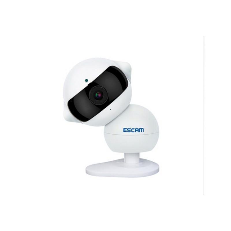 IP камера ESCAM Elf QF200: 960Р, ночное видение, датчик движения, оповещения на смартфон, точка доступа Wi-Fi, Micro SD 64 Гб