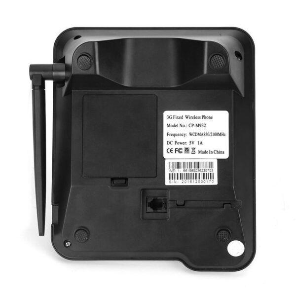 27061 - Стационарный беспроводный 3G телефон: SMS, 1000 мАч батарея, 3G 850/2100 мГЦ