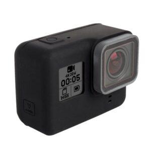 Силиконовый защитный чехол для GoPro HERO 5 с крышкой для объектива