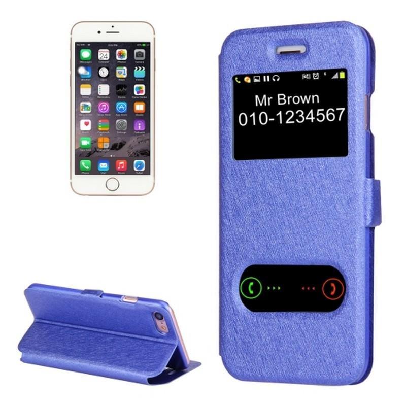 Чехол-книжка для iPhone 7 с Call-ID экраном и подставкой-держателем 204216