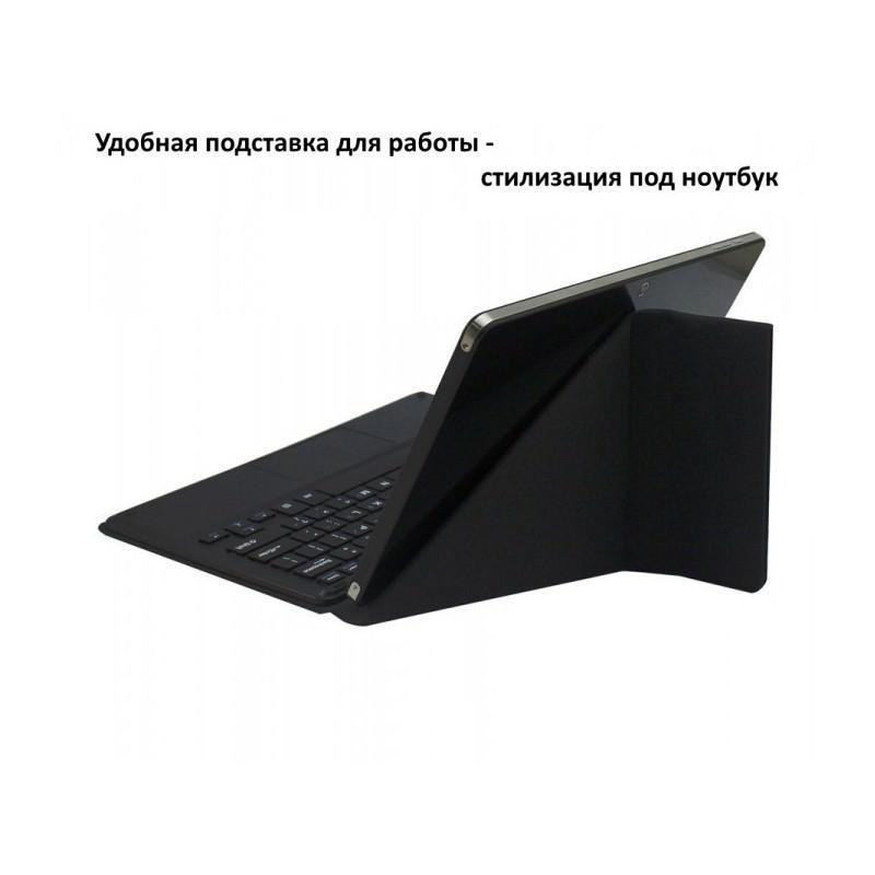 Чехол с англо-русской клавиатурой для планшета Chuwi Vi10 – док-станция с магнитным разъемом (черный) 185690