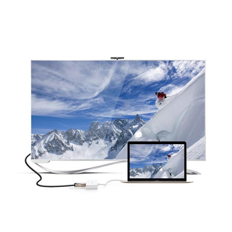 Переходник UGreen: USB Type-C к USB 3.0 + HDMI/ VGA хаб + адаптер питания для устройств с USB Type-C выходом 204816