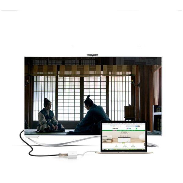 27858 - Переходник UGreen: USB Type-C к USB 3.0 + HDMI/ VGA хаб + адаптер питания для устройств с USB Type-C выходом