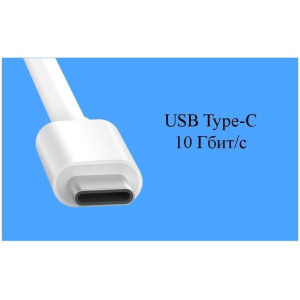 27861 - Переходник UGreen: USB Type-C к USB 3.0 + HDMI/ VGA хаб + адаптер питания для устройств с USB Type-C выходом