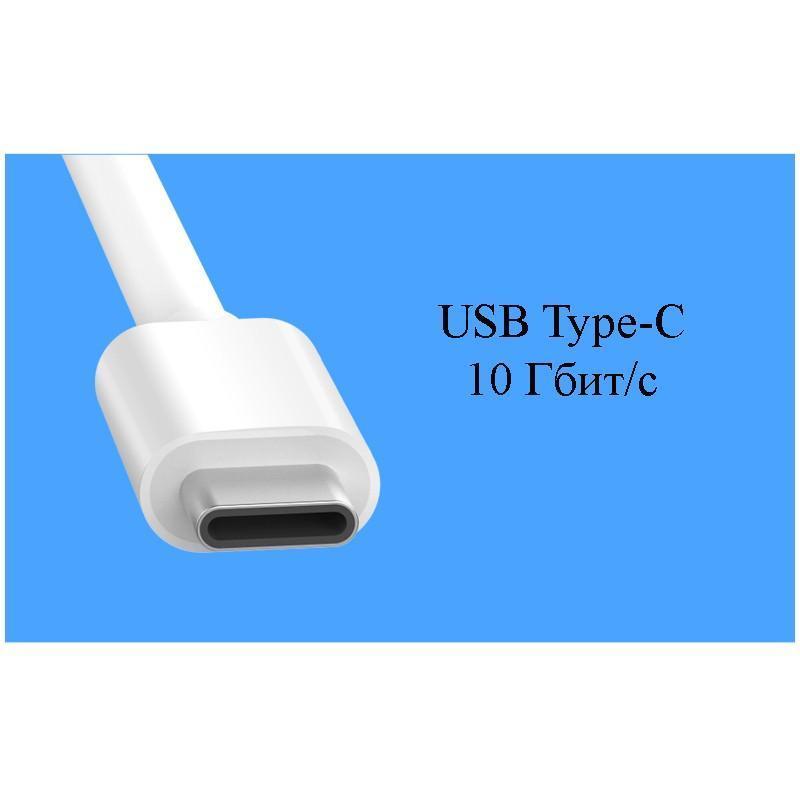 Переходник UGreen: USB Type-C к USB 3.0 + HDMI/ VGA хаб + адаптер питания для устройств с USB Type-C выходом 204822