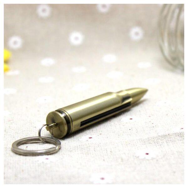 27882 - Многоразовая спичка-зажигалка Гильза в металлическом корпусе