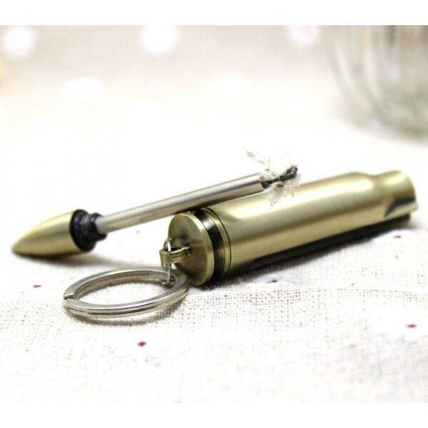 27884 - Многоразовая спичка-зажигалка Гильза в металлическом корпусе