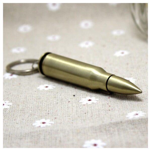 27890 - Многоразовая спичка-зажигалка Гильза в металлическом корпусе