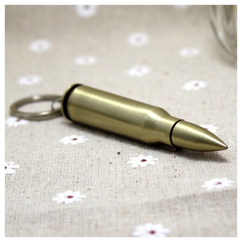 Многоразовая спичка-зажигалка Гильза в металлическом корпусе 204848