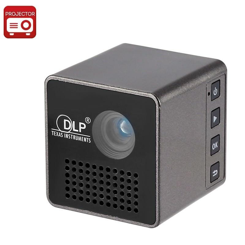 Карманный DLP-проектор Cube G1: 30 лм, проекция 70 дюймов, формат изображения 4:3 и 16:9, 640×360 разрешение, 950 мАч батарея