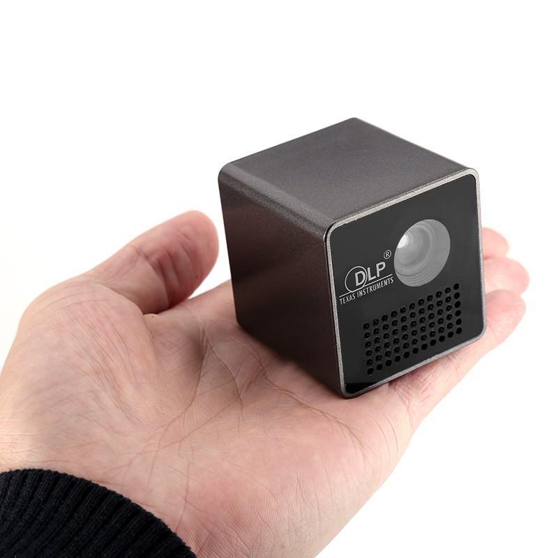 Карманный DLP-проектор Cube G1: 30 лм, проекция 70 дюймов, формат изображения 4:3 и 16:9, 640×360 разрешение, 950 мАч батарея 204947