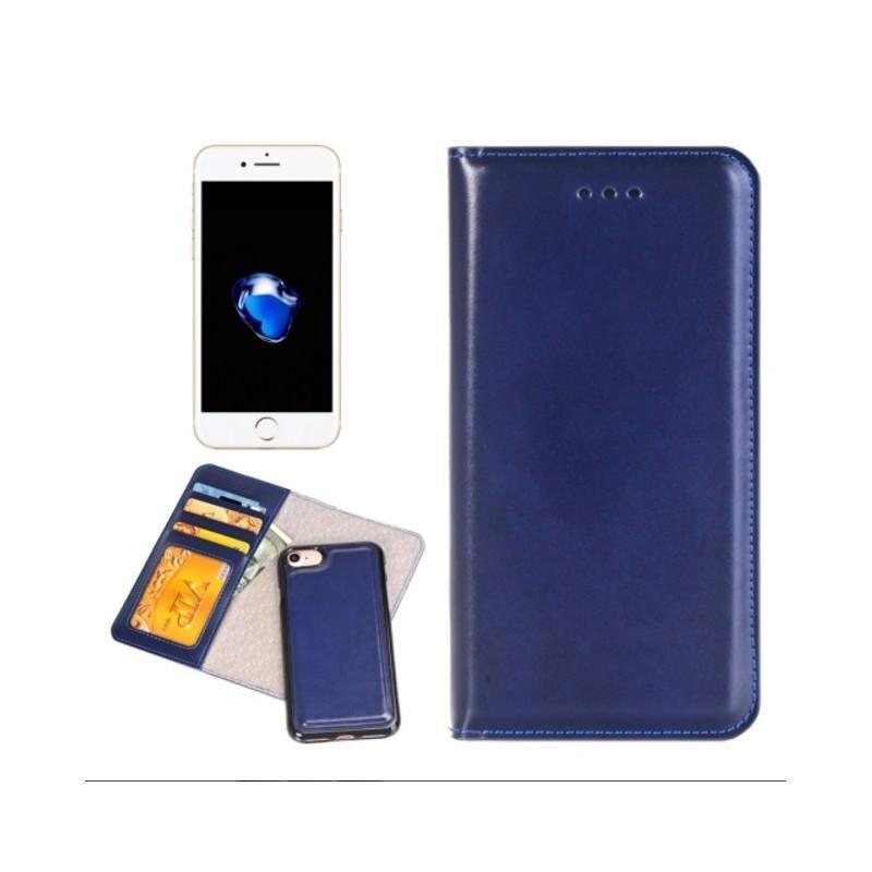 Кожаный чехол-кошелек для iPhone 7 Plus со съемной крышкой из термопластичного полиуретана 204975