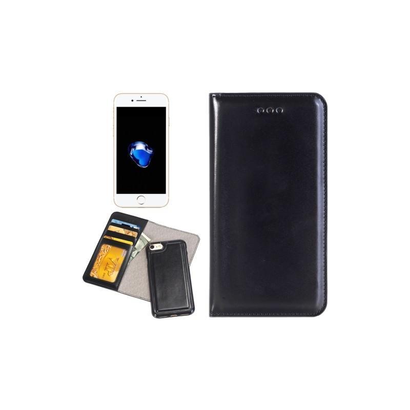 Кожаный чехол-кошелек для iPhone 7 Plus со съемной крышкой из термопластичного полиуретана 204977