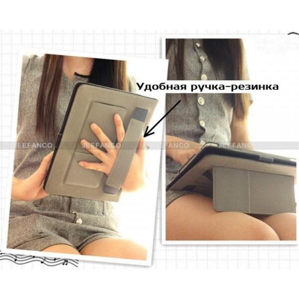 28194 - Чехол Jeefanco из натуральной кожи для iPad AIR