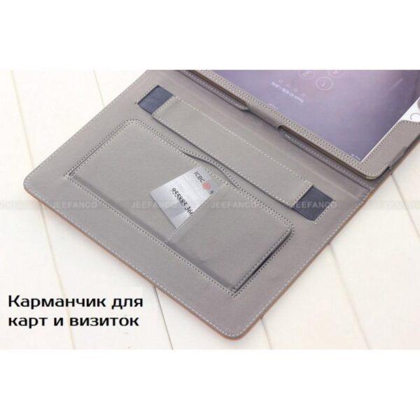 28198 - Чехол Jeefanco из натуральной кожи для iPad AIR