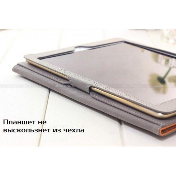 28205 - Чехол Jeefanco из натуральной кожи для iPad AIR