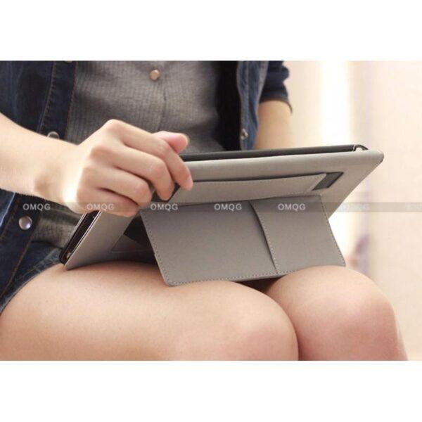 28206 - Стильный чехол-книжка Jeefanco для iPad AIR