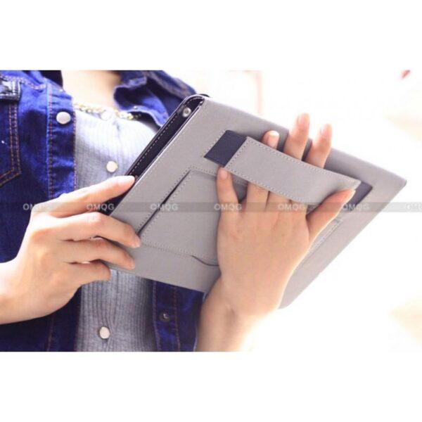 28214 - Стильный чехол-книжка Jeefanco для iPad AIR