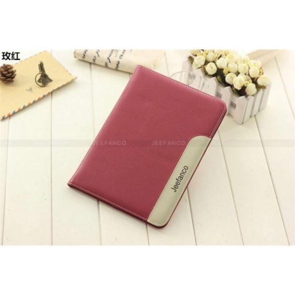 28219 - Стильный чехол-книжка Jeefanco для iPad AIR