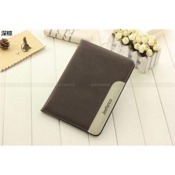 28220 - Стильный чехол-книжка Jeefanco для iPad AIR