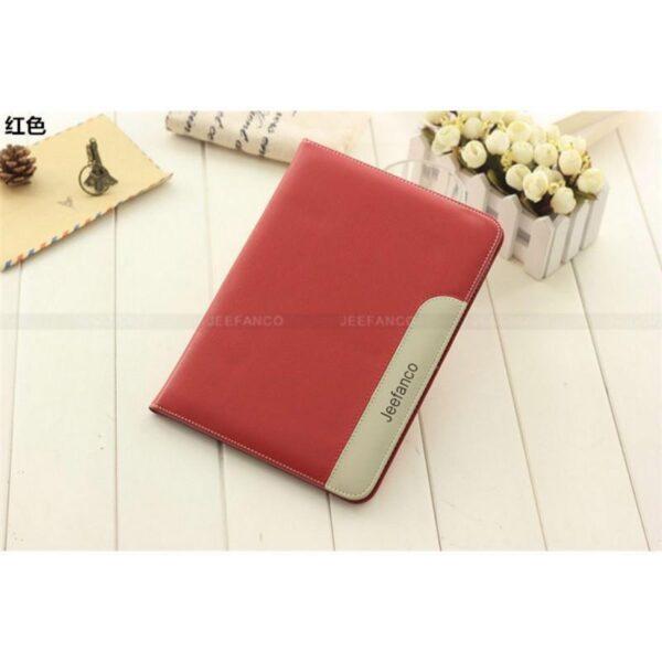 28221 - Стильный чехол-книжка Jeefanco для iPad AIR