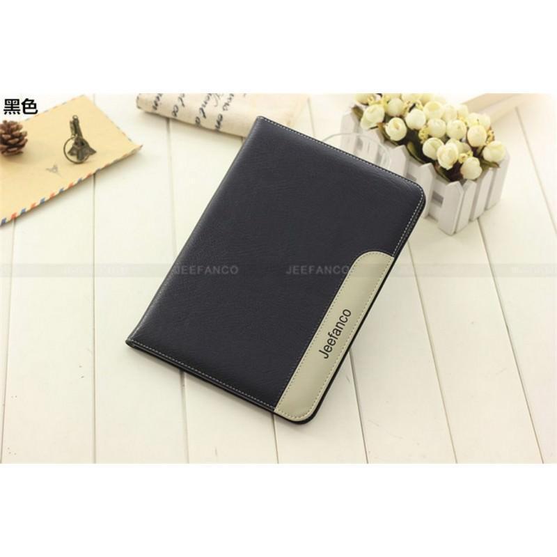 28222 - Стильный чехол-книжка Jeefanco для iPad AIR