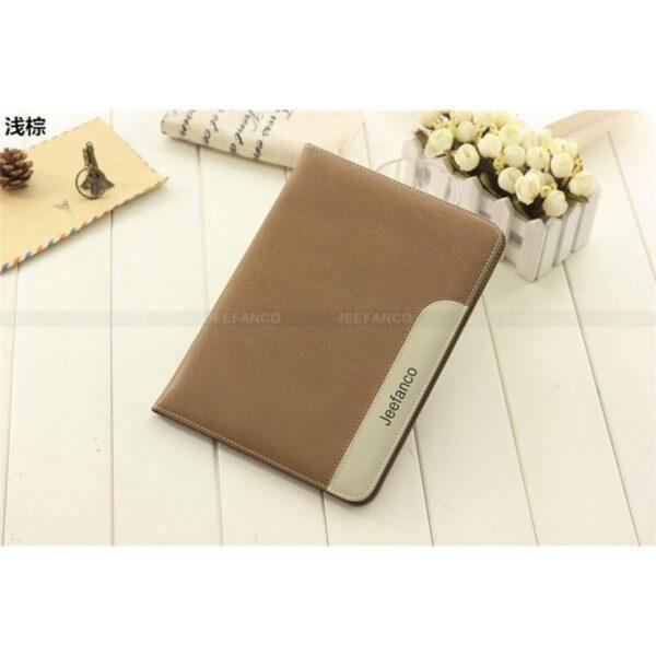 28223 - Стильный чехол-книжка Jeefanco для iPad AIR