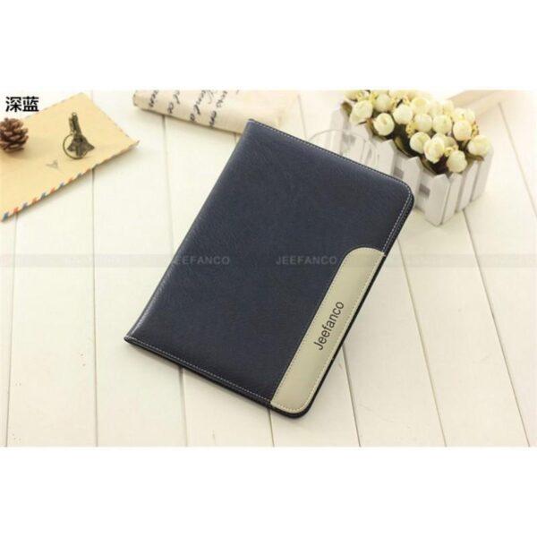 28224 - Стильный чехол-книжка Jeefanco для iPad AIR